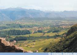 Südtirol ist eine Reise wert: Im Etschtal lässt sich herrlich wandern