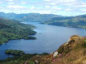 Loch Katrine in Schottland (Foto © P. Milde)