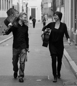 Johann Alisch und Isabel Eichenlaub spielen Campanula (Foto: © privat)
